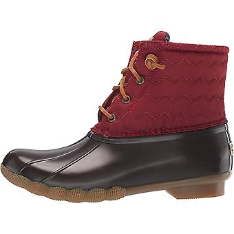 Sperry Womens Saltwater Quilt Closed Toe Ankle Riding Boots