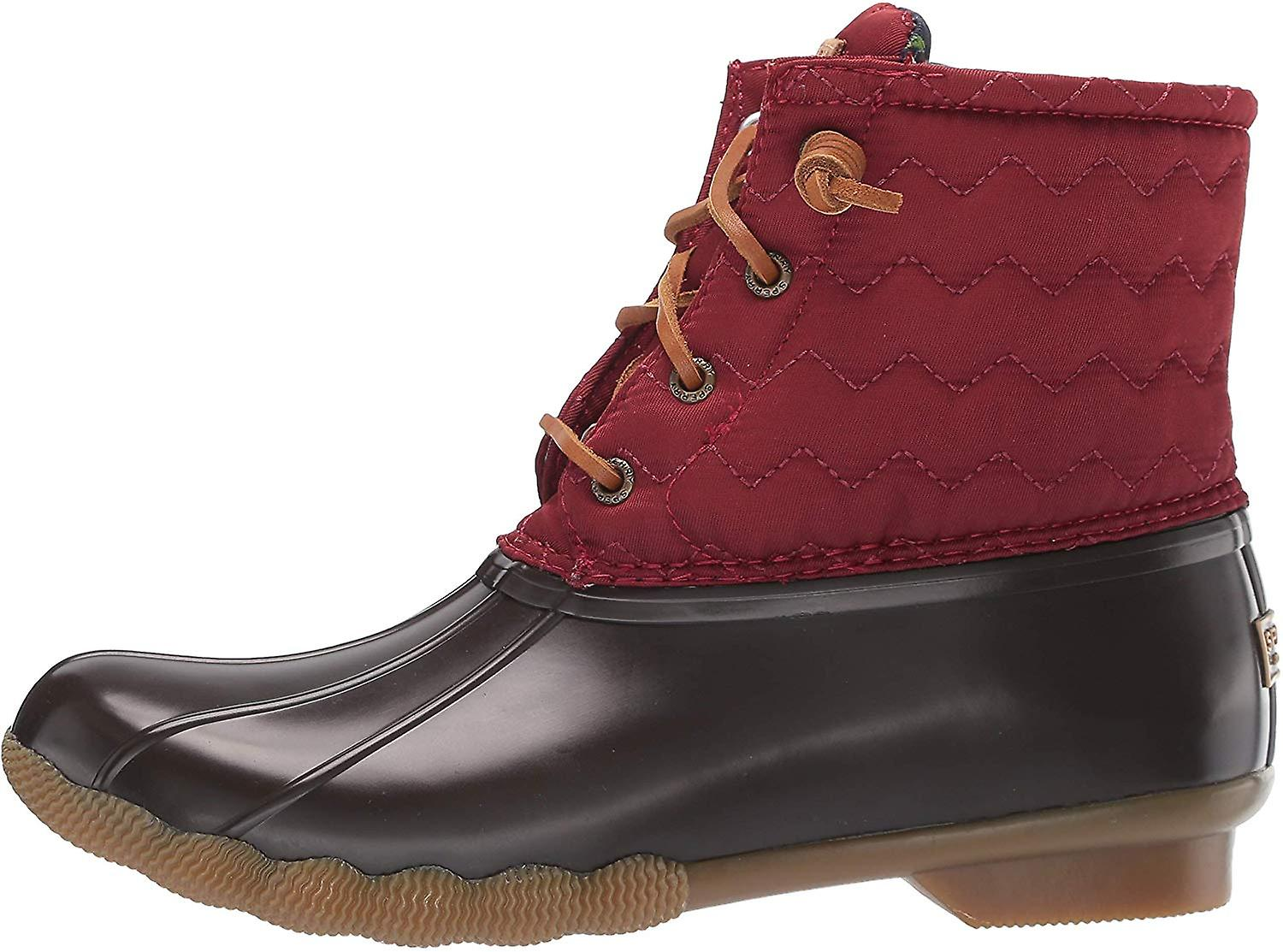 Sperry Womens Saltwater Quilt Closed Toe Ankle Riding Boots ldjyV