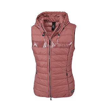 Pikeur Jess Womens Quilted Waistcoat - Rouge
