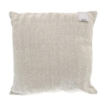 Country Club Fiskebein Como Jumbo Pute, 55 x 55cm, Natural Beige
