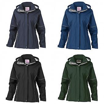 Resultado, mujeres, señoras urbanas cayó ligera chaqueta técnica (impermeable y a prueba de viento)