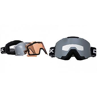 Trespass Unisex Magnetic DLX Changeable Lens Ski Goggles