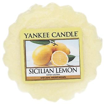 Yankee Candle Wax Tart Melt Sicilian Lemon