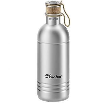 Elite Bottle - Eroica Aluminium Bottle With Cork Stopper 600 Ml