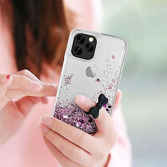 Iphone 11 Pro - Liquid Glitter 3d Bling Shell Case