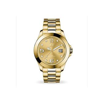 Ice Watch Klocka Unisex ICE stål Classic Guld Medium 016916
