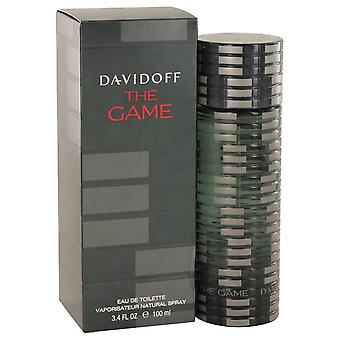Spelet eau de toilette spray av davidoff 501567 100 ml