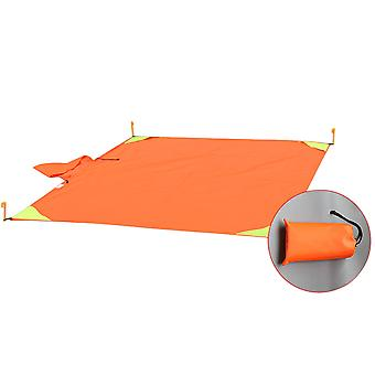 Waterproof Raincoat And Beach Mat