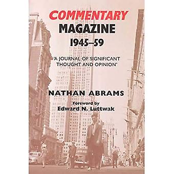 Commentary Magazine 1945-1959 : AJournal of Significant Thought and Opinion