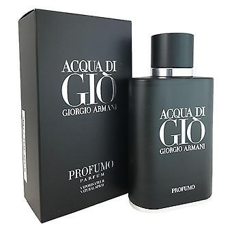 Acqua di gio for men profumo by giorgio armani 2.5 oz eau de parfum spray