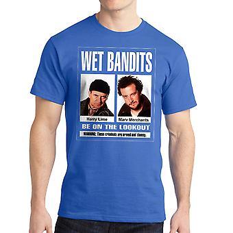 Home Alone Wet Bandits Harry & Marv Men's Royal Blue T-shirt