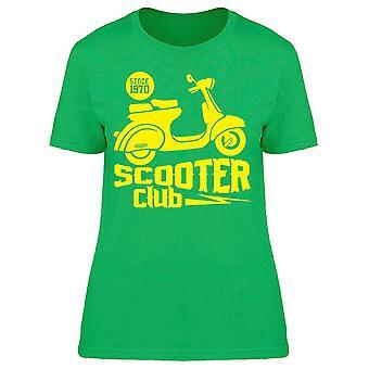 Scooter Club Tee Women's -Bild av Shutterstock
