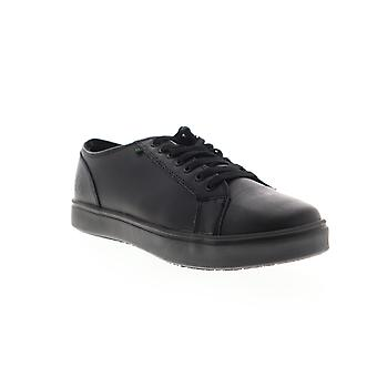 Emeril Lagasse Canal Leather Mens Black Casual Lace Up Fashion Sneakers Shoes