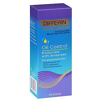 Differin oil control moisturizer with sunscreen, 4 oz
