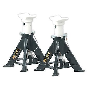 Sealey As7S Axle Stands 7Tonne Capacity Per Stand 14Tonne Per Pair Short