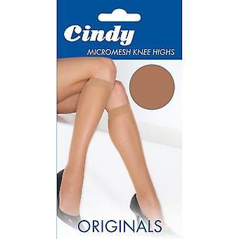 Cindy Womens/Ladies Micromesh Knee Highs (1 Pair)