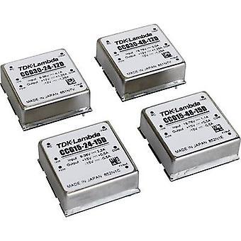 TDK-Lambda CCG-15-24-12S DC/DC-muunnin (tulostus) 12 V 1.3 A 15.6 W Ei. lähtöjen määrä: 1 x