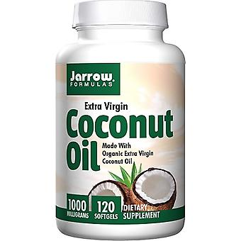 Jarrow Formulas Coconut Oil Extra Virgin 1000 mg 120 Softgels