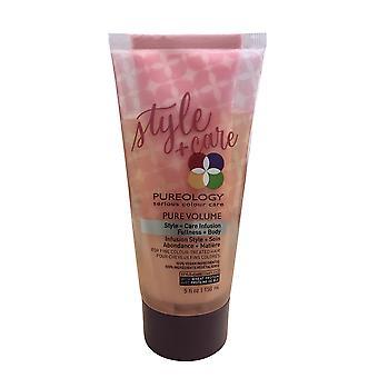 Pureology Pure Volume Style + Pielęgnacja Infuzji Kolor leczonych włosów 5 OZ