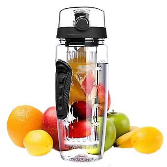Portable outdoor camping handhold fruit water bottle 1000ml