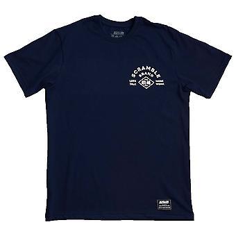 Scramble Less Talk T-Shirt Navy