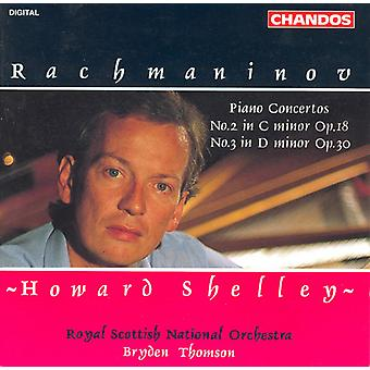 S. Rachmaninov - Rachmaninov: Piano Concertos No. 2 in C mineur Op. 18 & No. 3 in D Minor Op. 30 [CD] USA import
