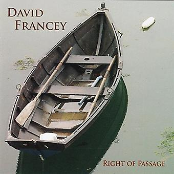 David Francey - Right of Passage [CD] USA import