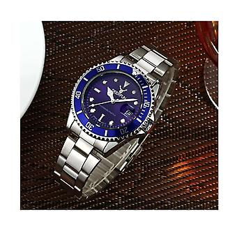 Genuine Deerfun Homage Watch Blue Silver Date Watches Top Quality Sale