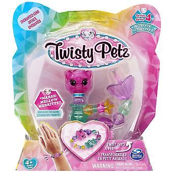 Twisty Petz Single Pack Série 4 - Marshmellow Merkitty