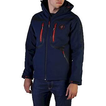 Geographical Norway - Clothing - Jackets - Tinin_man_navy - Men - navy,red - XXXL