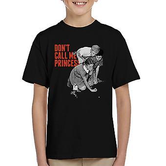 De saturday evening post dont call me Princess Kid's T-Shirt
