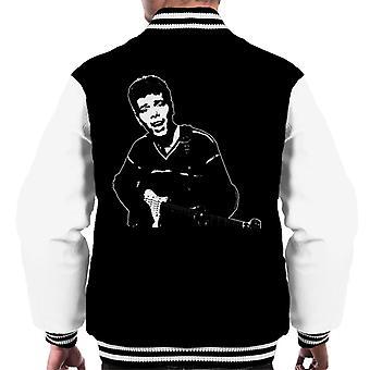 TV keer Cliff Richard uitvoeren van 1962 mannen Varsity Jacket