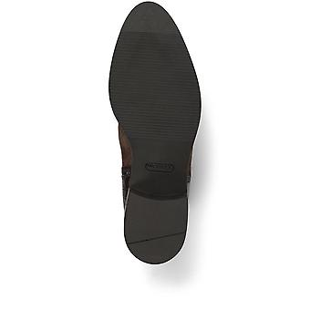 Jones Bootmaker Naisten Rento Flat Croc Panel Nahka Nilkka Boot