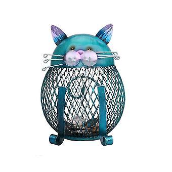 Süße Metall Tier Vogel Gitter Topf Piggy Bank - Home Dekoration Geld boxen