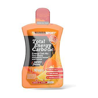 Total energy carbo gel 40 ml of gel (Citrus)