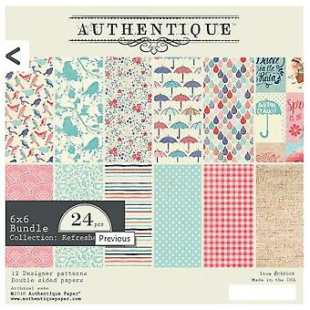 Authentique Refreshed 6x6 Inch Paper Pad