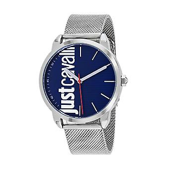 JC1G079M0055, Just Cavalli Men's Forte - Azul - Reloj de cuarzo