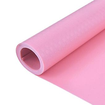 Moisture-proof Cabinet Mat Kitchen Oil-proof Mat 300x45cm Pink