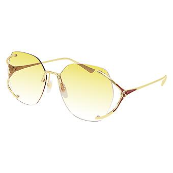 Gucci GG0651S 005 Gold/Yellow Gradient Sunglasses
