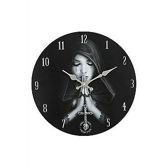 שעון קיר תפילה גותי של אן סטוקס