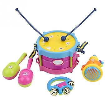 Kinderen Drum Trumpet Toy, Muziek Percussie Instrument Band Kit Early Learning