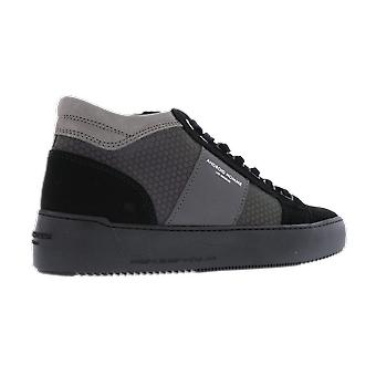 Android Homme Propulsion Mid Geo Hex Reflect Czarne buty AH115