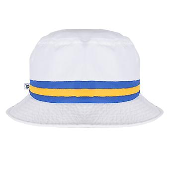 fan originals Bucket Hat - White Blue Yellow Leeds United Colours