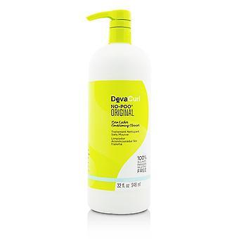 DevaCurl No-Poo Original (Zero espuma Cleanser - de condicionamento para cabelos cacheados) 946ml / 32oz
