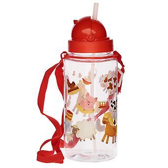 Fun Bramley Bunch Farm Design 450ml Childrens Water Bottle X 1 Pack