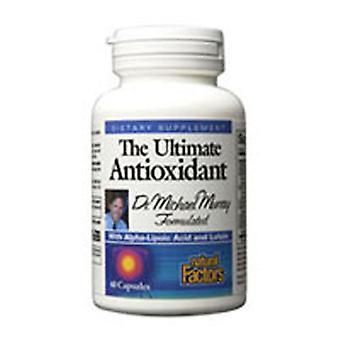 Luonnolliset tekijät Lopullinen antioksidantti, 60 korkkia