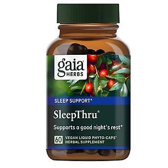 Gaia Yrtit SleepThru, 60 vcaps