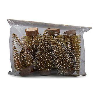 Gran Jul Guld 6-pack 10 cm