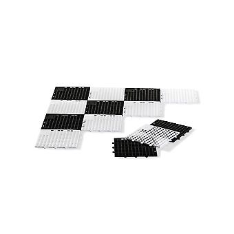 Rolly toys large chess & draughts base for 3 year old-black and white