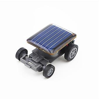 ألعاب الطاقة الشمسية أصغر قوة ميني سيارة متسابق التعليمية (أسود)